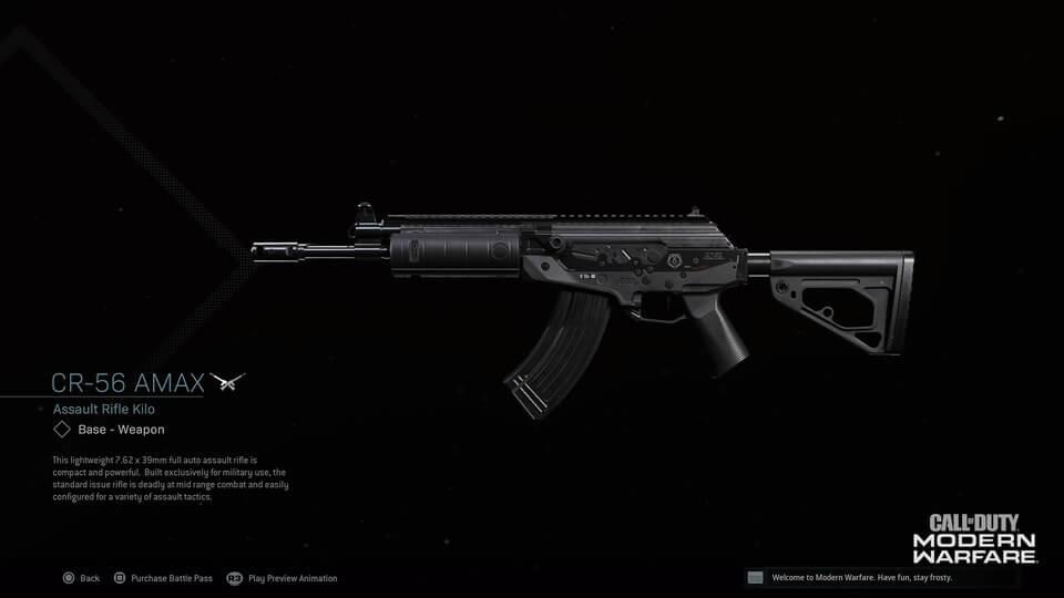 CR-56 Amax Gun COD