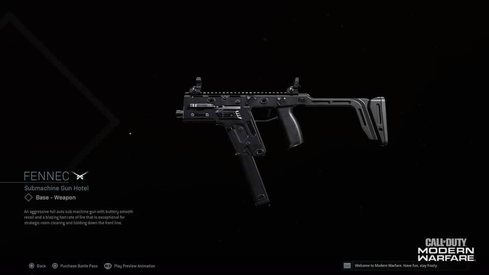 Fennec Gun COD
