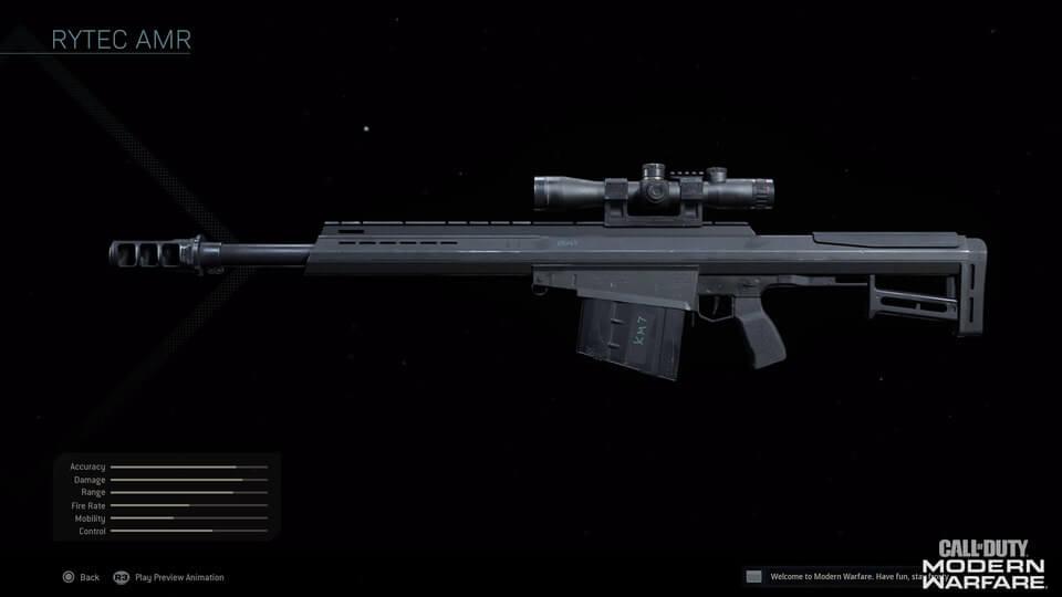 Rytec AMR Gun COD