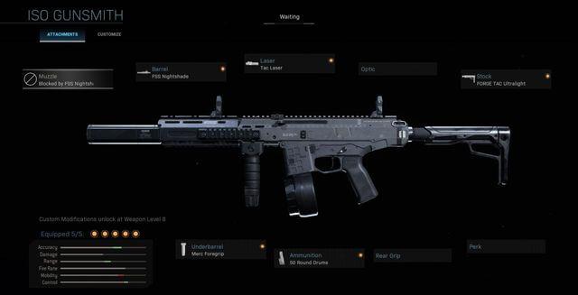 ISO SMG New Gun