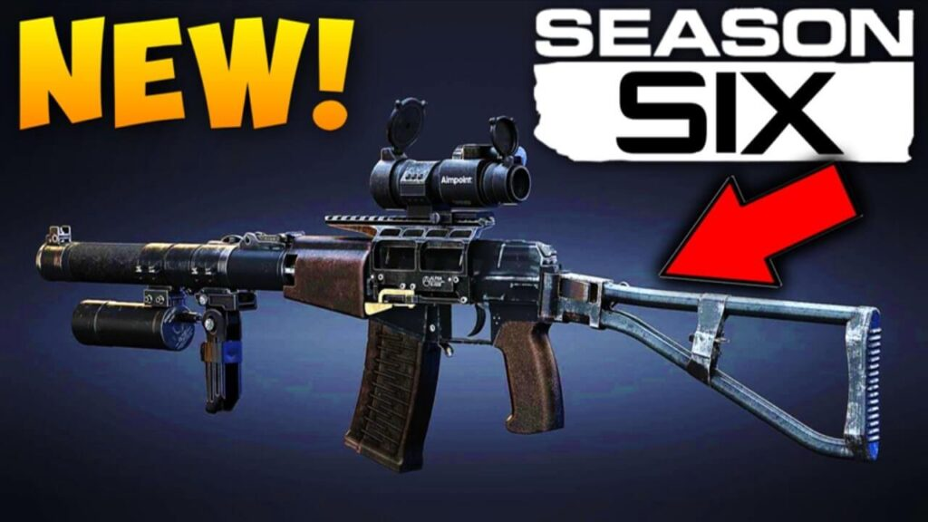 COD Season 6 New Guns
