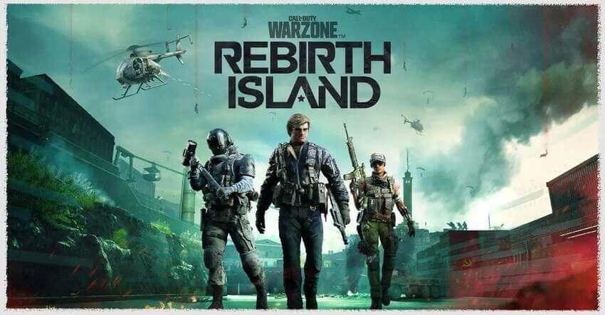 Call of duty warzone Rebirth Island