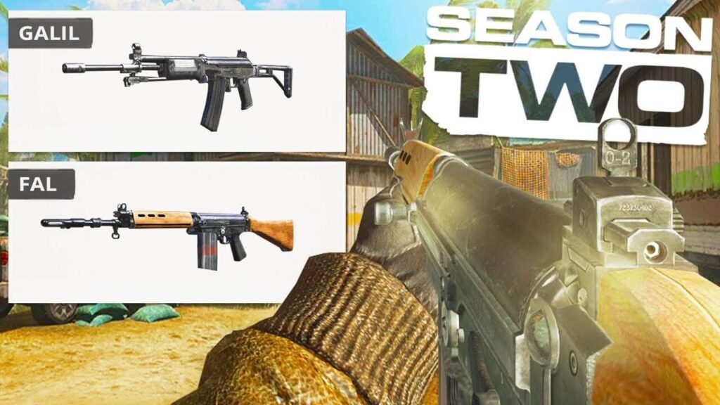 Call of duty season 2 new weapons