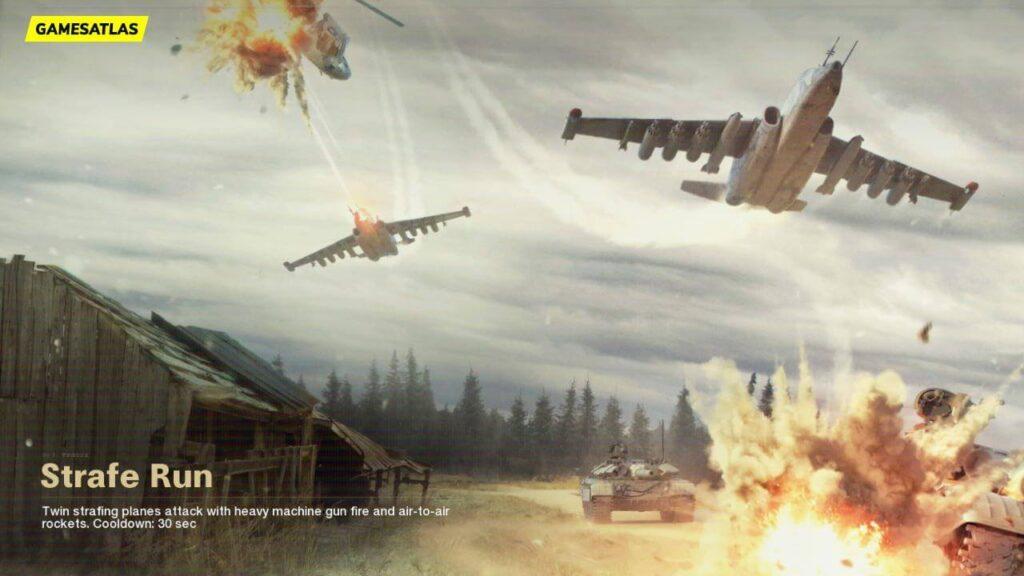 Call of duty cold war season 3 - Strafe Run Killstreak