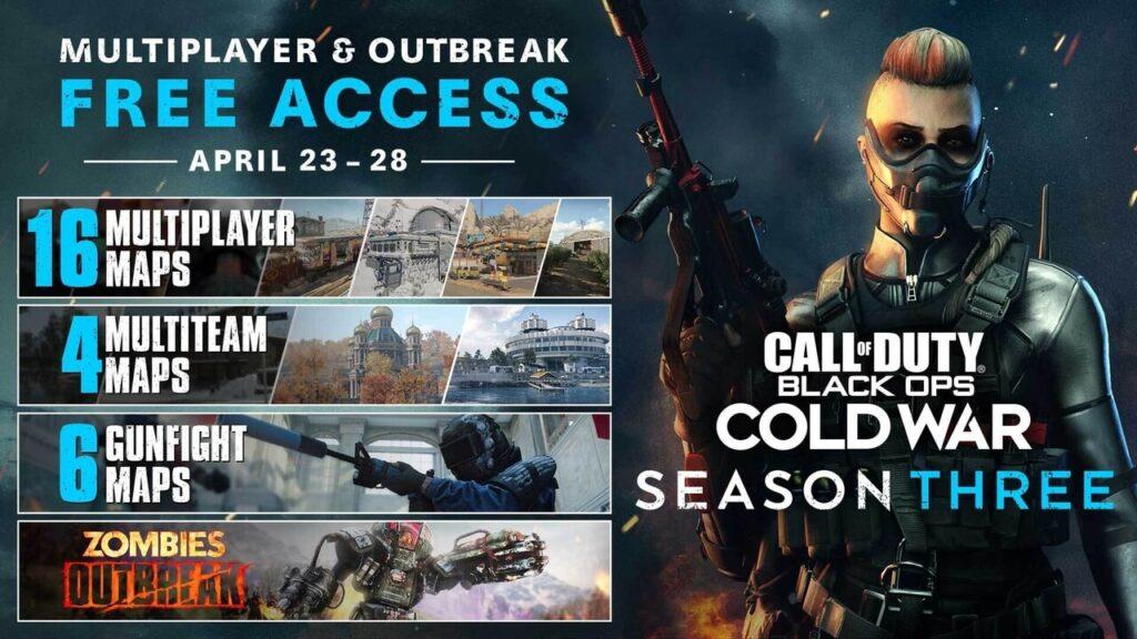 Call of Duty Cold war Season 3 Maps