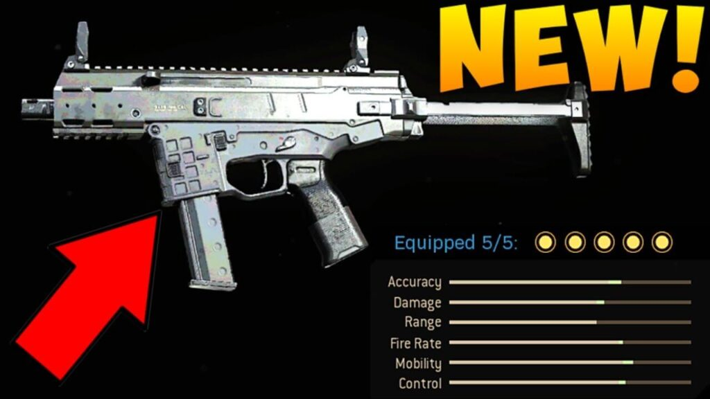 New call of duty weapons